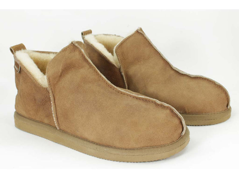Men's slippers - sheepskin
