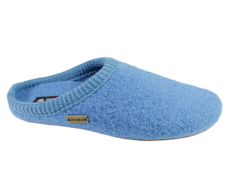 Haflinger Slippers Everest Classic Light Blue