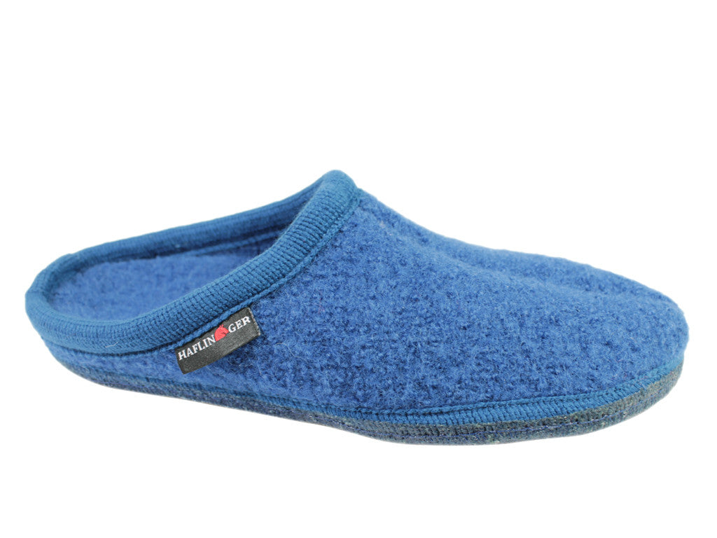 Haflinger Slippers Alaska Blue