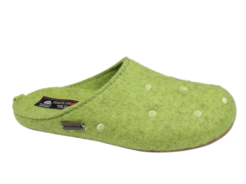 Haflinger Slippers Everest Noblesse Green