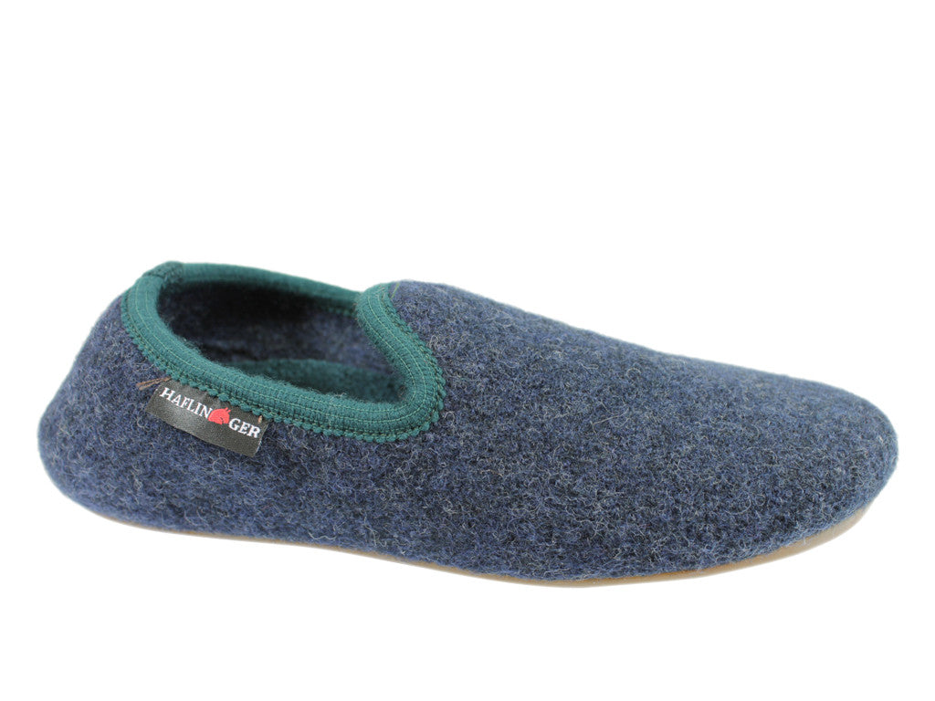 Haflinger Slippers Everest Charlie Kapitan/green