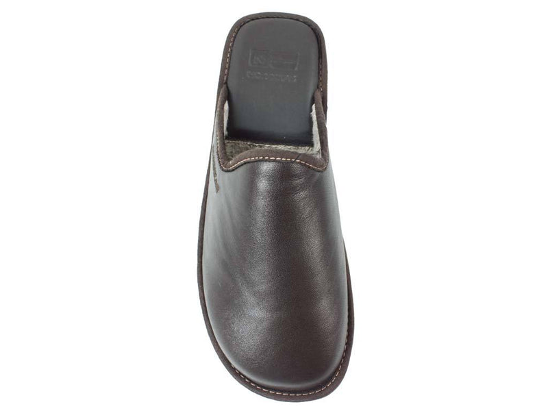 Nordikas Men Slippers Moka top view