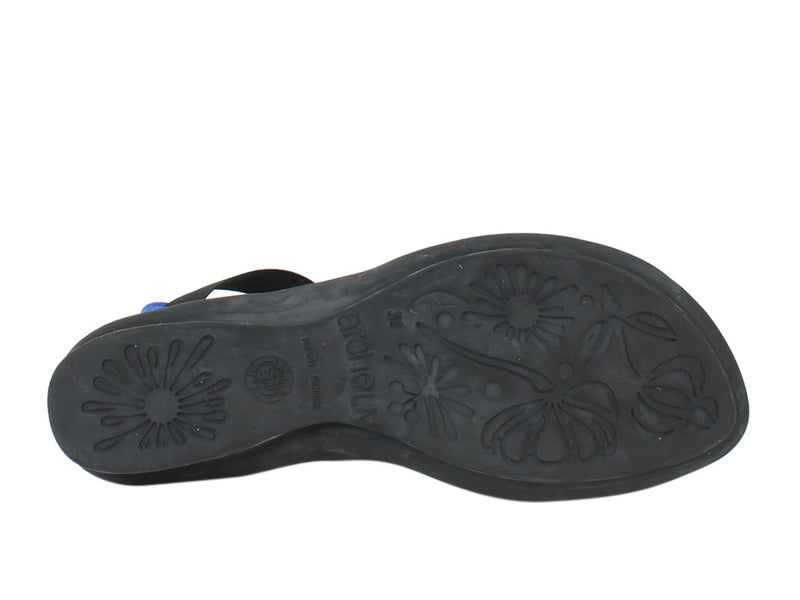 Arche Women Sandals Satia Saphire sole view