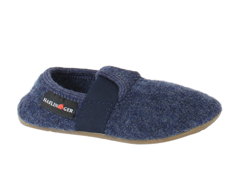 Haflinger Children's slippers Everest Jonas Jeans side view