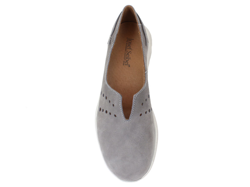 Josef Seibel Shoes Malena 13 Grey top view