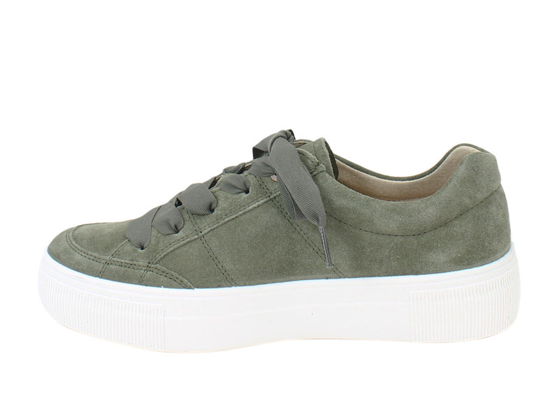 Legero Trainers Lima 910-72 Olive side view