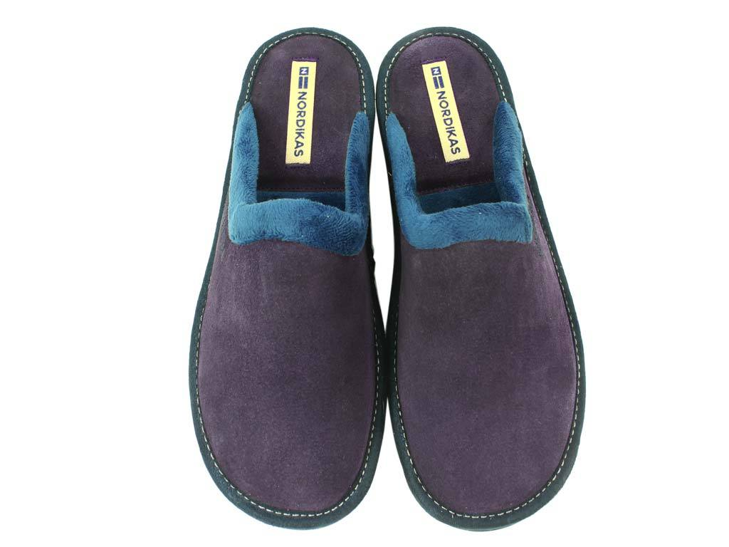 Nordikas Slippers Purple upper view