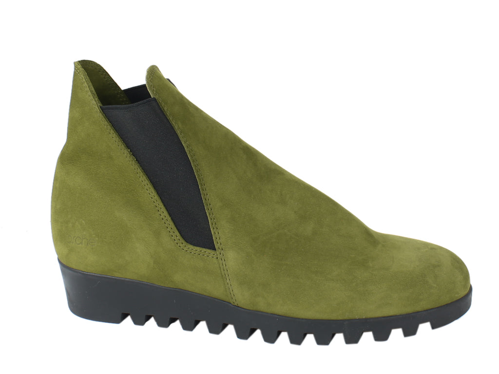 Arche Boots Lomata Oliba Green side view