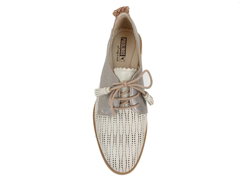 Pikolinos Women Shoes Sitges W7J-4846C1 Marfil Cream top view