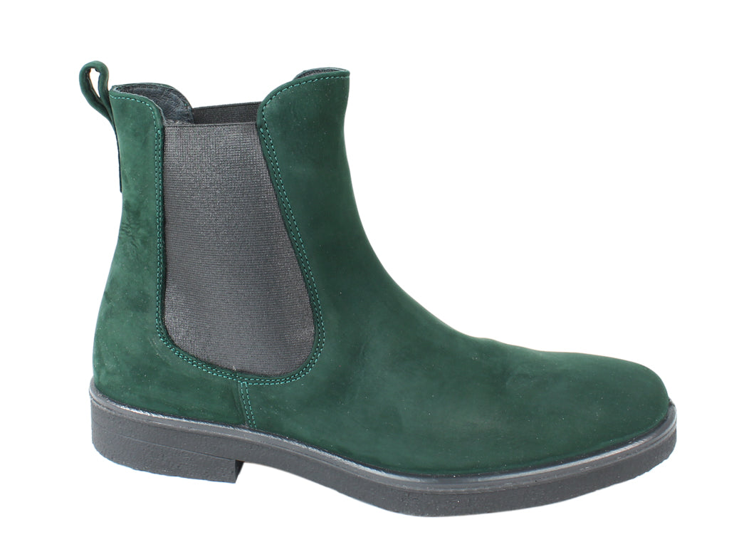 Legero Boots Soana 00866 Pine Green side view