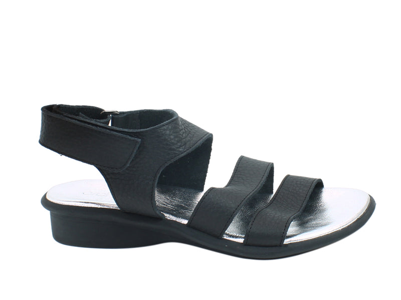 Arche Sandals Satana Black side view