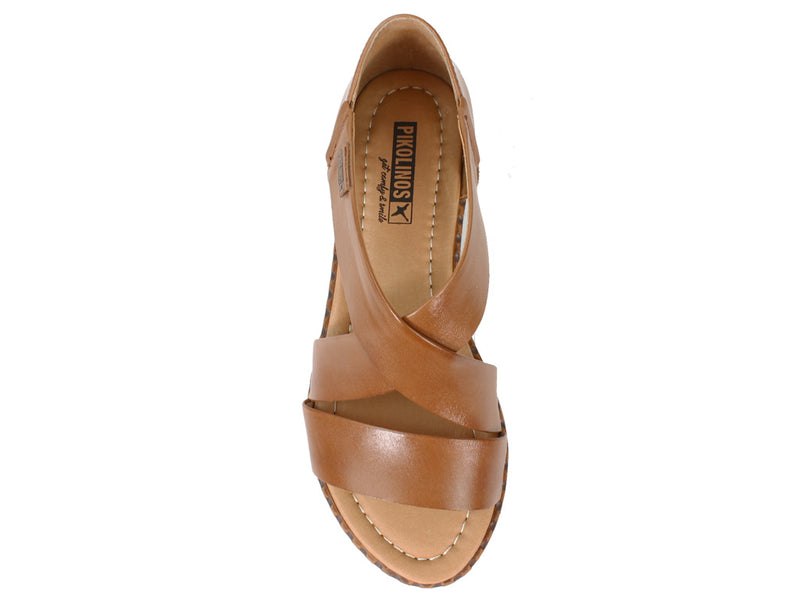 Pikolinos Women Sandals Algar W0X-0552 Brandy top view