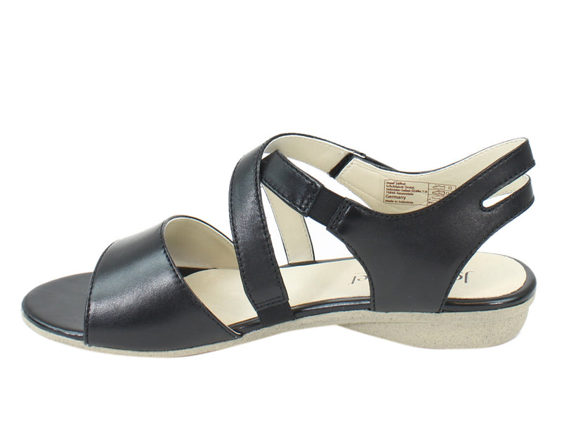 Josef Seibel Women Sandals Fabia 17 Black side view