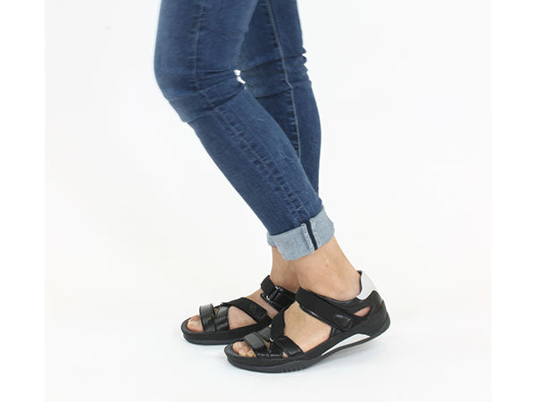 Wolky Sandals Ripple Black