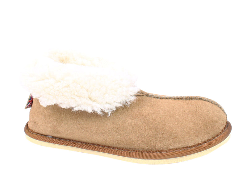 Celtic & Co Slippers Sheepskin Bootee Spice side view