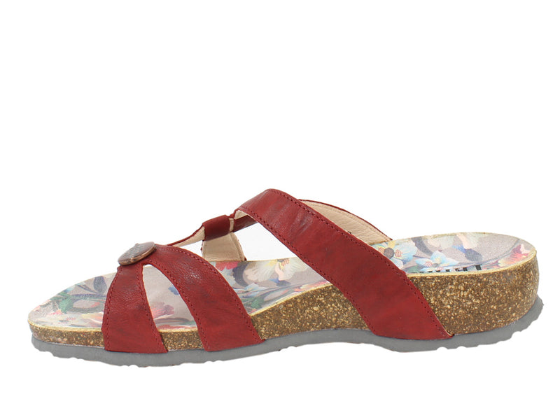 Think Sandals Julia 86333-73 Cherry side view