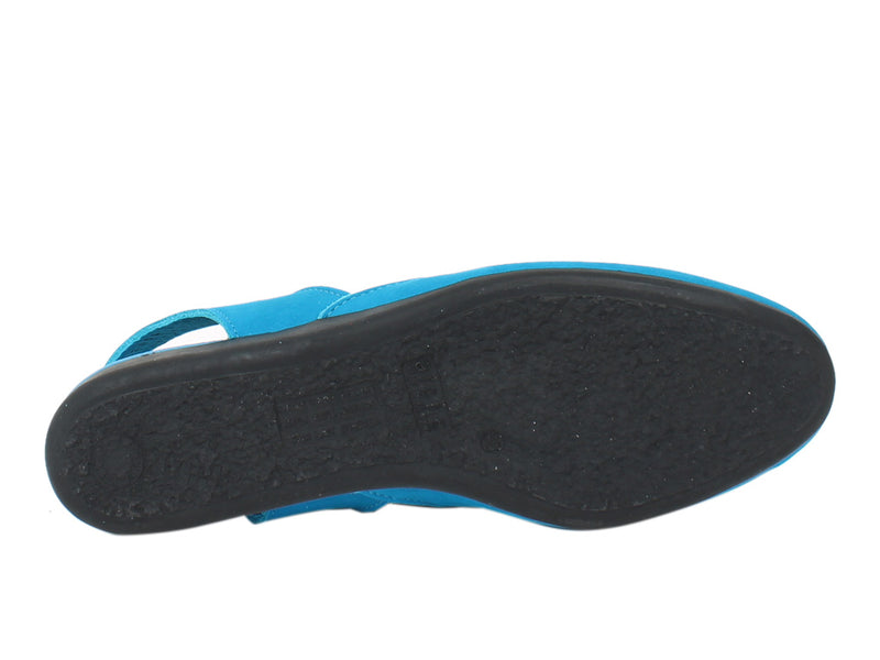 Arche Women Sandals Labana Nayati Blue sole view