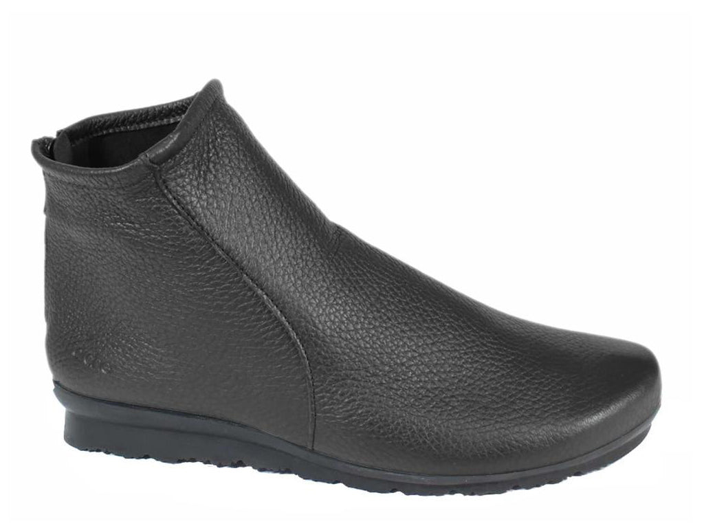 Arche Boots Baryky Black Leather side view