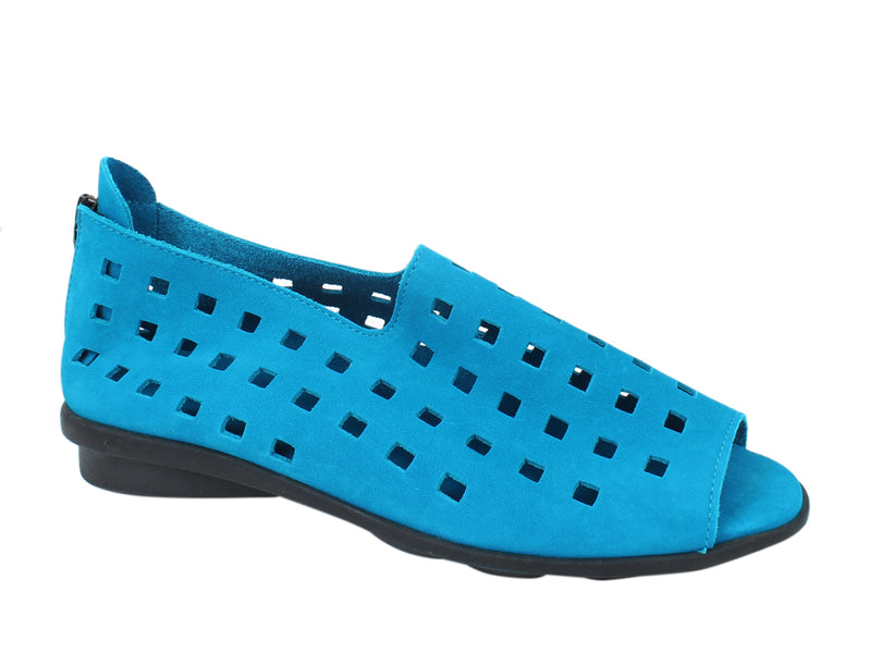 Arche Shoes Drick Nayati Blue side view
