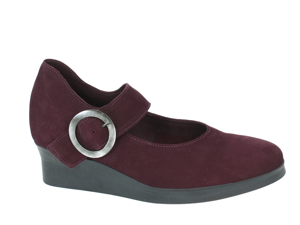 Arche Shoes Abenoa Aubergine side view