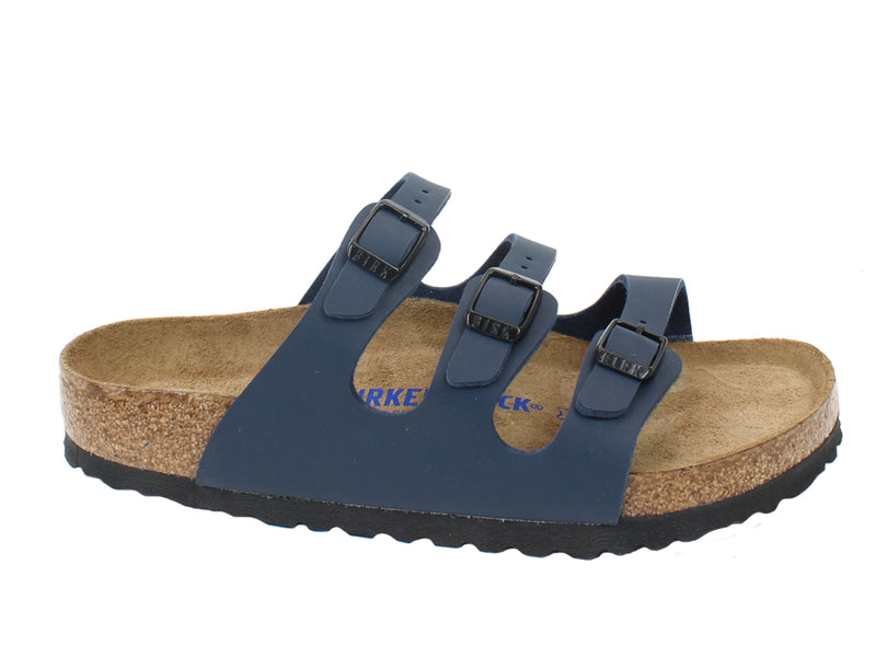 Birkenstock Sandals Florida Blue side view