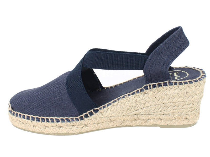 Toni Pons Sandals Ter Navy side view
