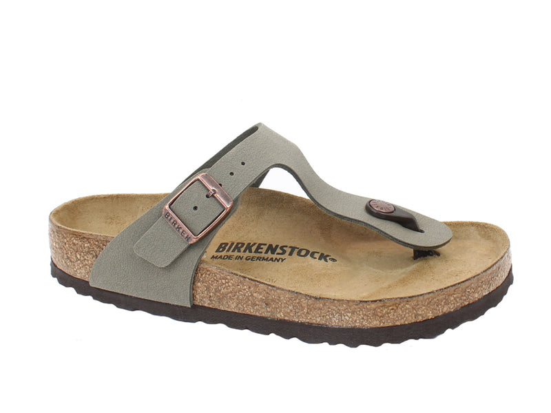 Birkenstock Sandals Gizeh Stone side view