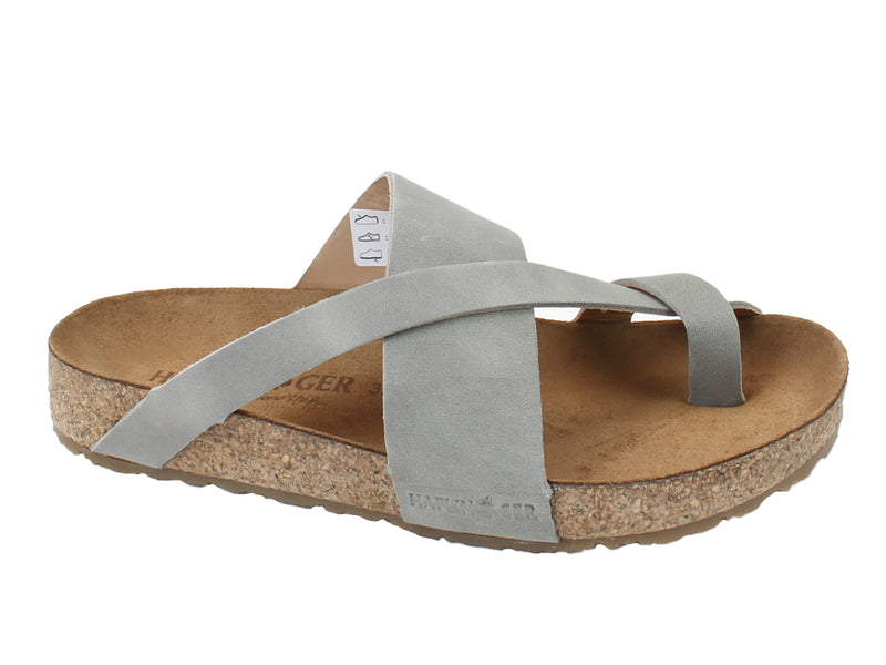 Haflinger Sandals Jack Grey side view