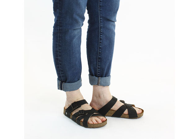 Haflinger Sandals Charles Black