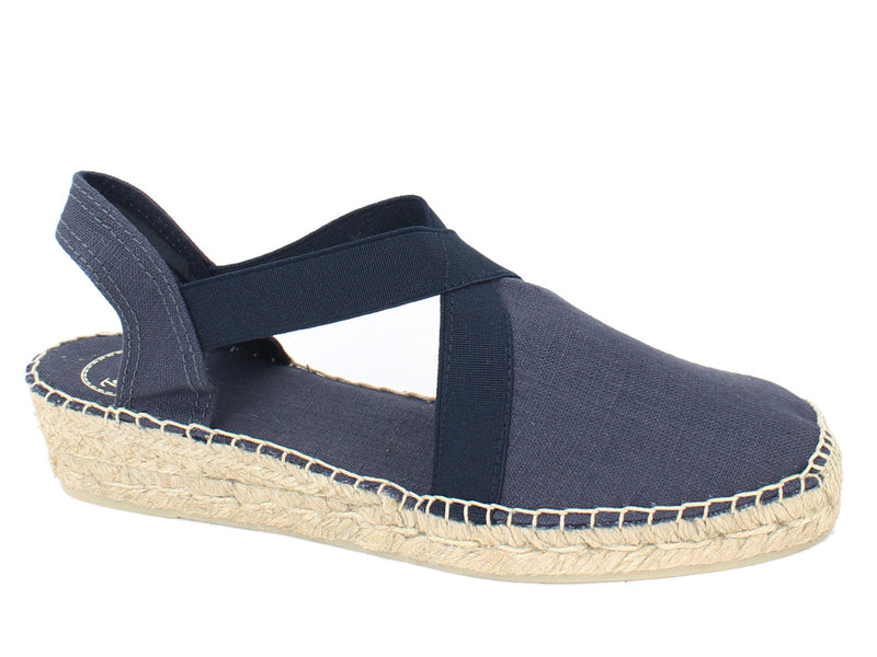 Toni Pons Sandals Verona Navy side view