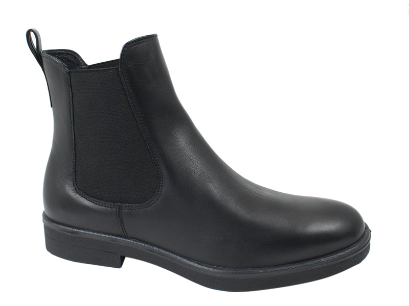 Legero Boots Soana 00866 Black Leather side view