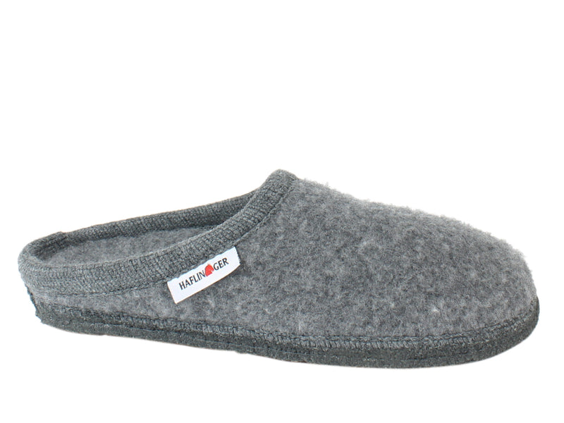 Haflinger Slippers Cashmere Anthracite side view