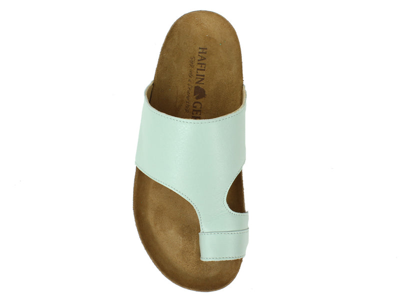 Haflinger Sandals Anka Mint top view