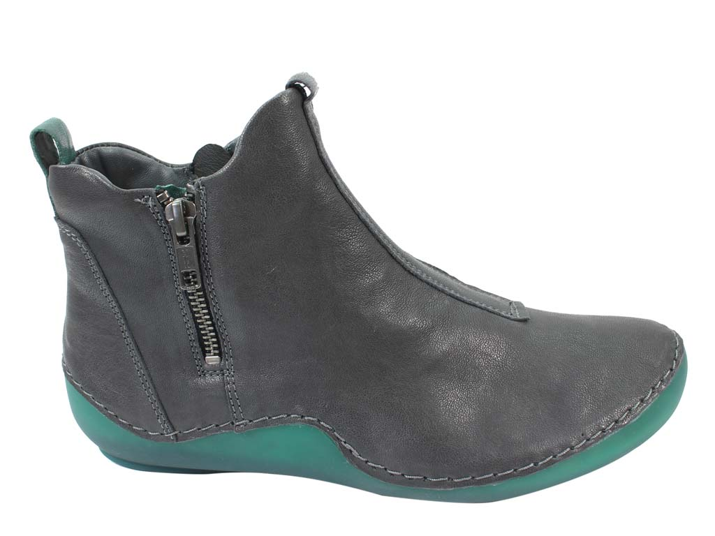 Think Boots Kapsl 85067-21 Vulcano Grey side view