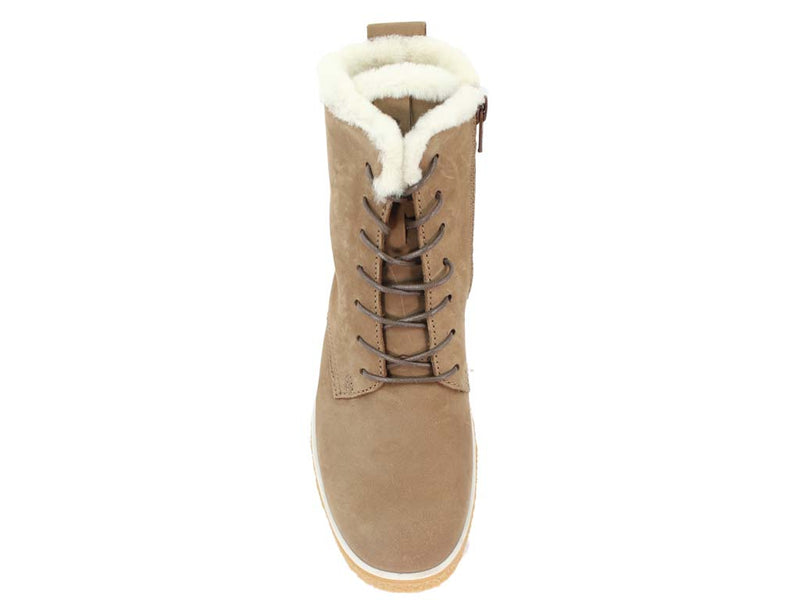 ECCO Boots Crepetray Camel top view
