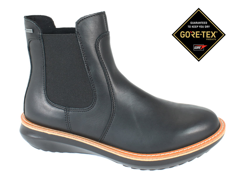 Legero Boots Harmony 000484 Black Leather side view