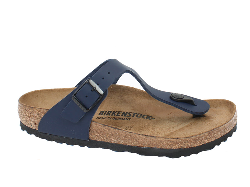 Birkenstock Sandals Gizeh Blue side view