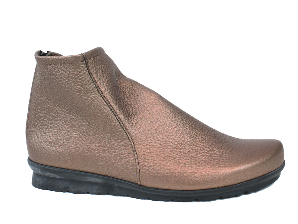 Arche Boots Baryky Bronze Leather side view
