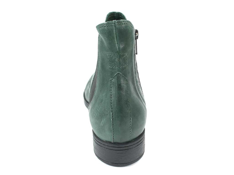 Think Boots Denk 85028-61 Bottle Green back view