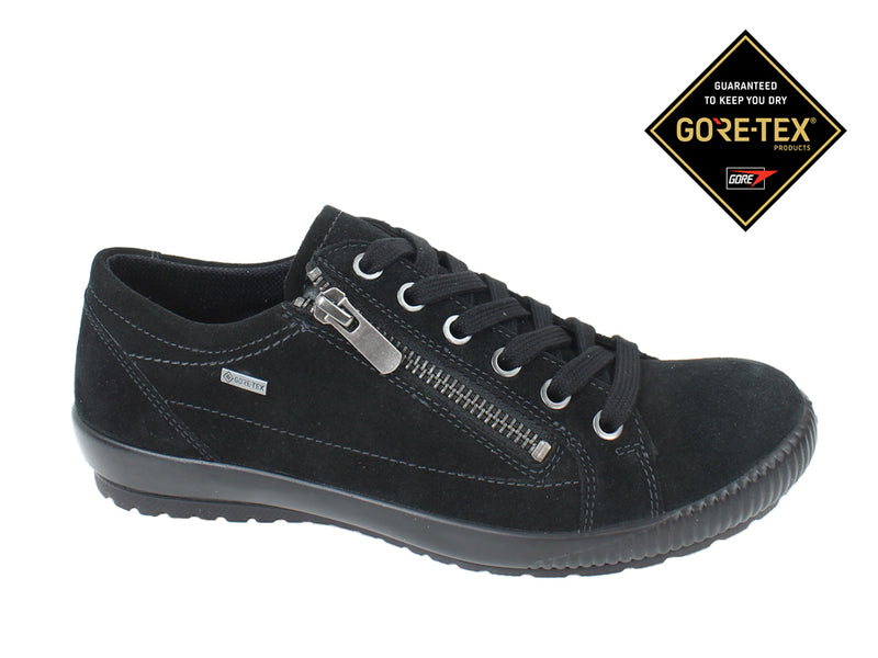 Legero Women Trainers Tanaro 00616 Total Black Zip side view