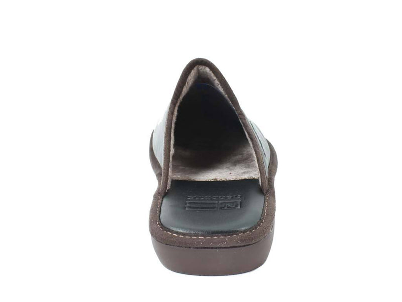 Nordikas Men Slippers Black back view