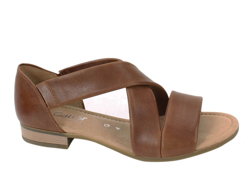 Gabor Sandals Sweetly 62.761 Peanut side view