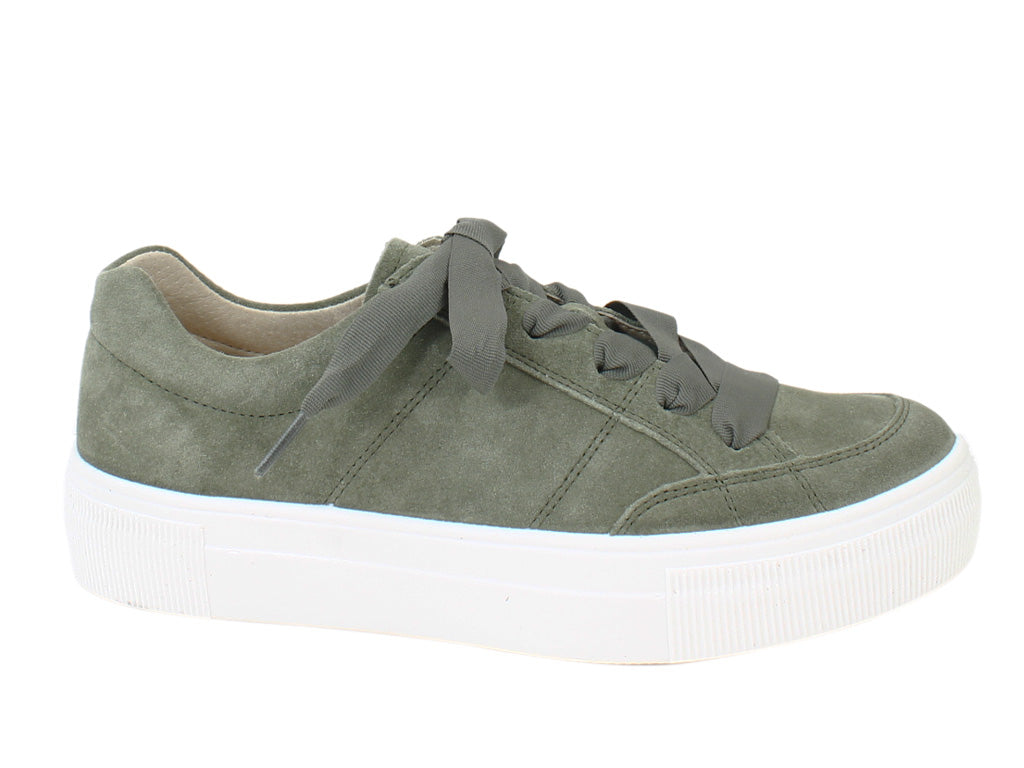 Legero Women Trainers Lima 910-72 Olive side view
