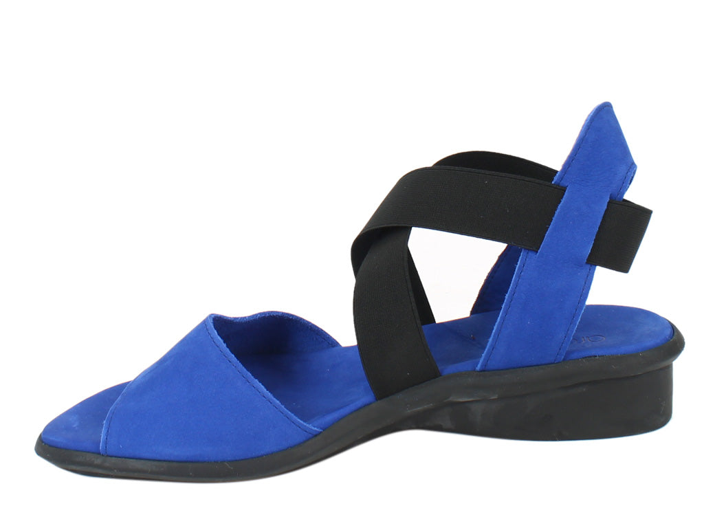 Arche Women Sandals Satia Saphire side view