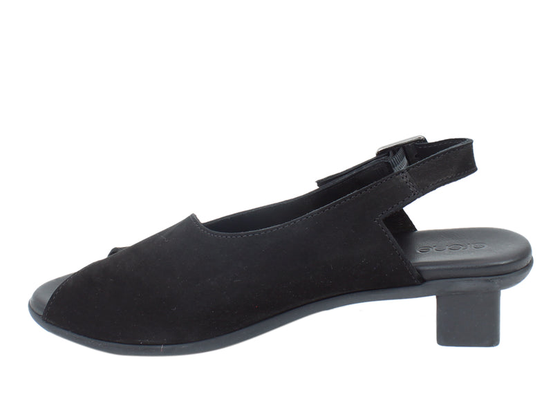 Arche Sandals Obicko Black side view