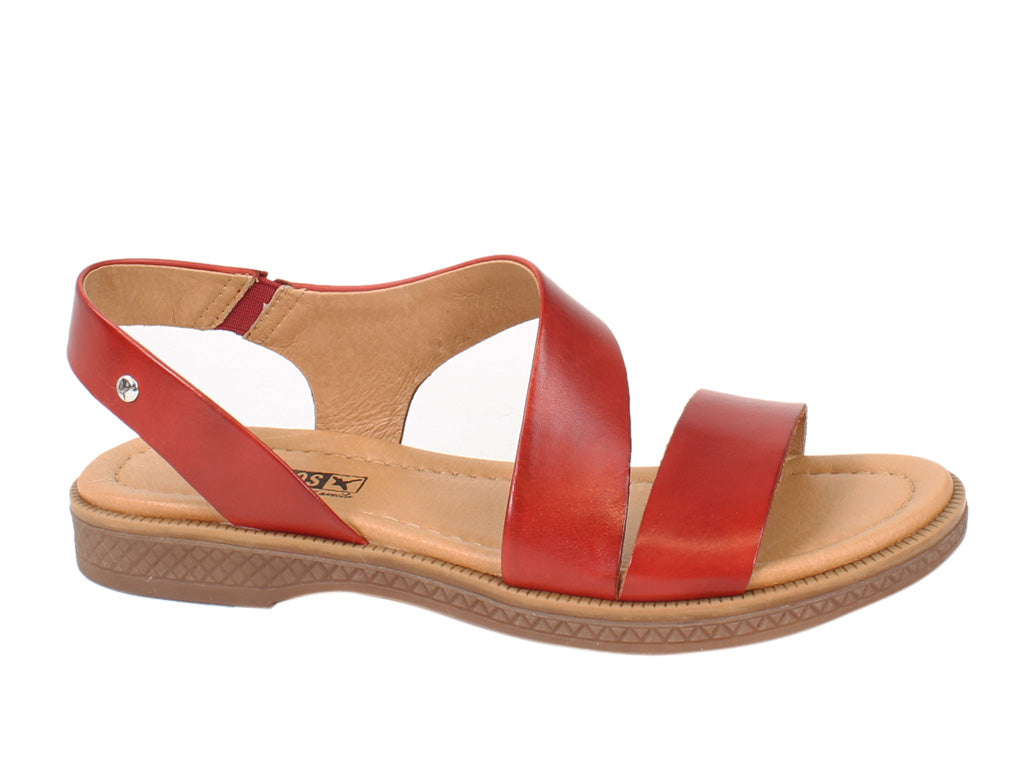 Pikolinos Women Sandals Moraira W4E-0834 Coral side view