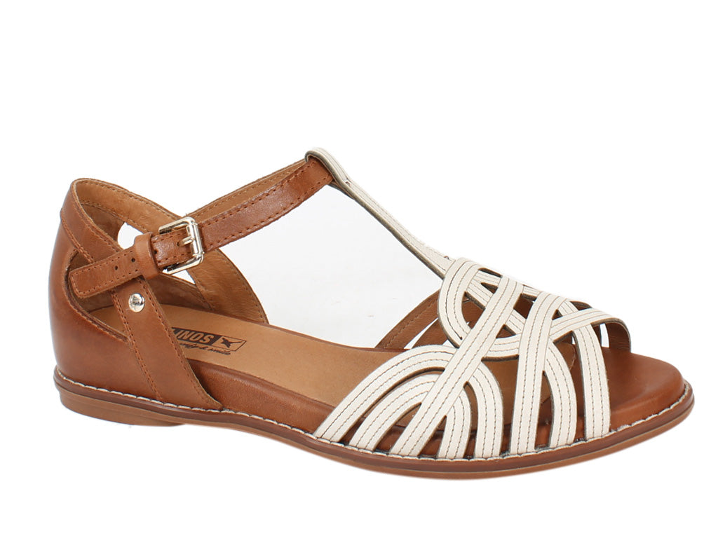 Pikolinos Sandals Talavera W3D-0668C1 White side view