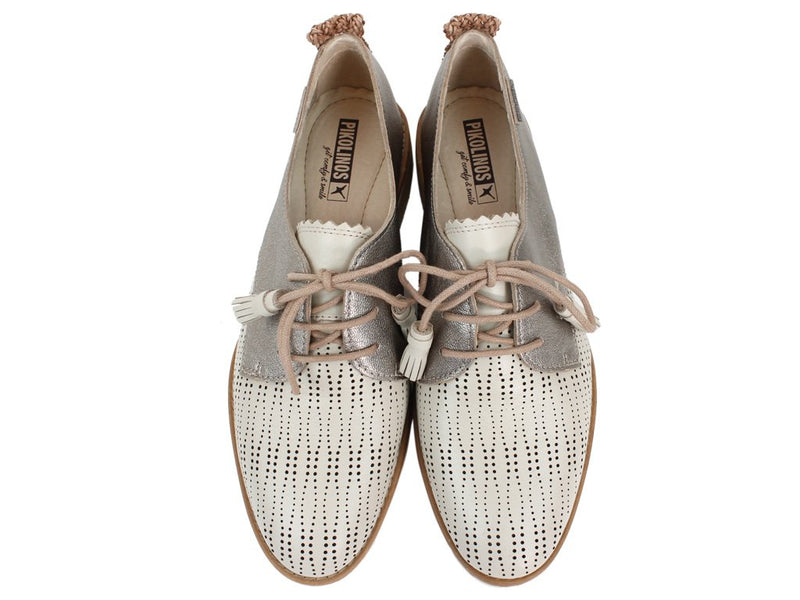 Pikolinos Women Shoes Sitges W7J-4846C1 Marfil Cream upper view