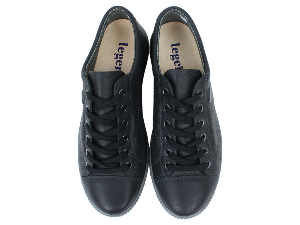 Legero Women Trainers Tanaro 00613-02 Black top view