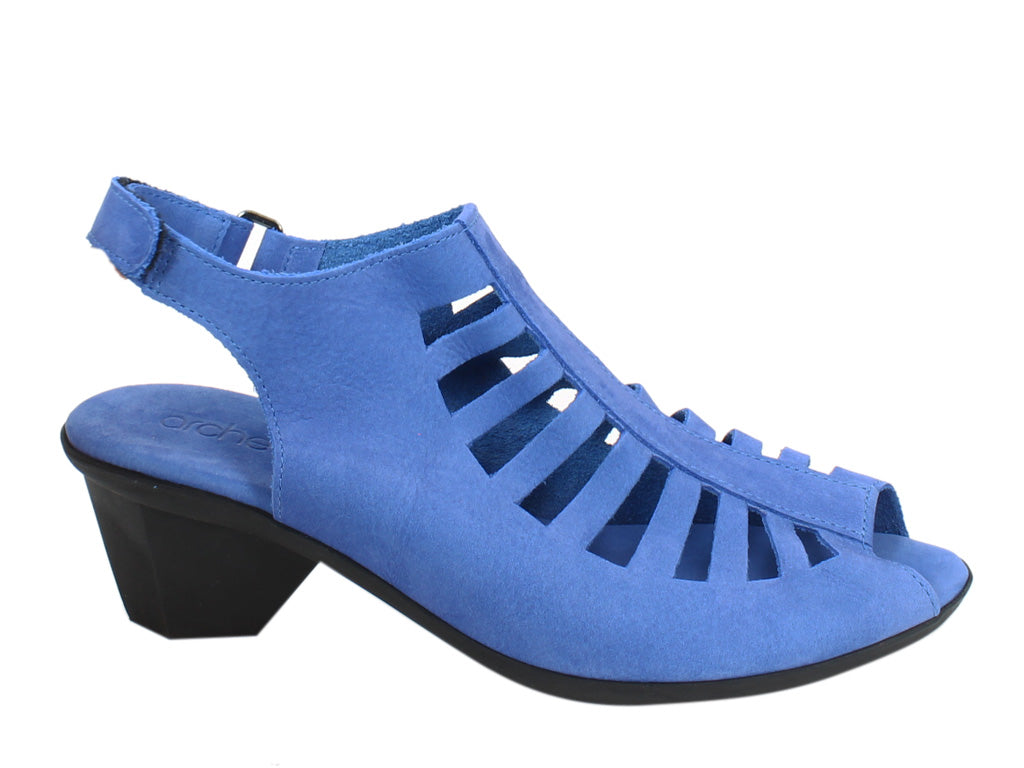 Arche Women Sandals Enexor Boreal Blue side view